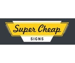 Super Cheap Signs coupon codes