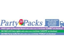 Party Packs promo codes