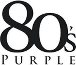80sPurple.com coupon codes
